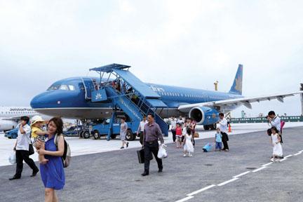 Sân đỗ máy bay Cát Bi