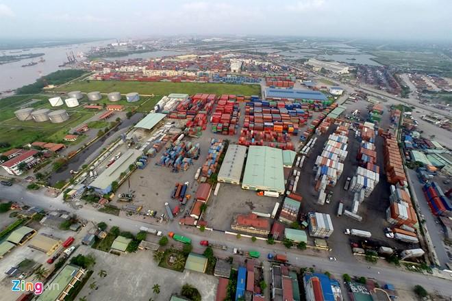 Cảng Hải Phòng lớn nhất Miền Bắc